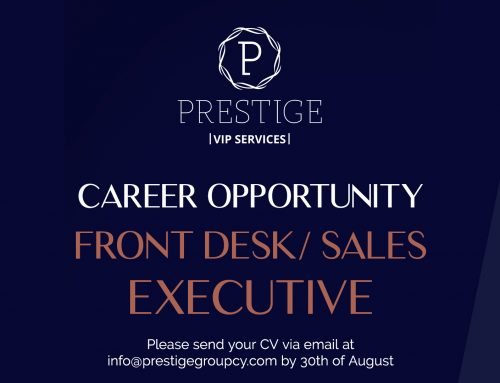 Career Opportunity at Prestige VIP Services in Limassol